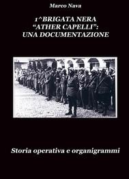 "1^Brigata Nera ""Ather Capelli"" Torino: Una documentazione - copertina"