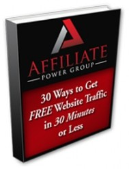 30 Ways to Get FREE Website Traffic in 30 Minutes or Less - copertina