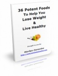 36 Potent Foods To Help You Lose Weight & Live Healthy - copertina
