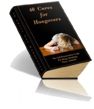 40 Cures For Hangovers - copertina