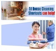 51 House Cleaning Shortcuts - copertina