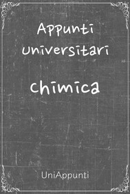 Appunti universitari: Chimica - copertina