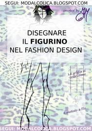 Disegnare il figurino  nel Fashion Design - copertina