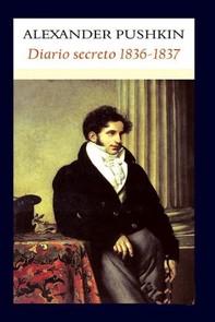 Diario secreto 1836-1837 - Librerie.coop
