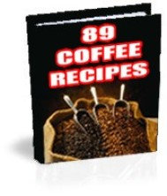 89 Original Recipes For Coffee Lovers - copertina
