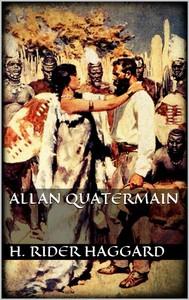 Allan Quatermain - copertina
