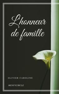 L'honneur de famille - copertina