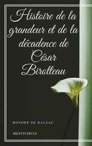 Histoire de la grandeur et de la décadence de César Birotteau - copertina