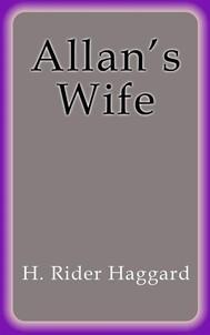 Allan's Wife - copertina