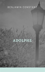 Adolphe - copertina