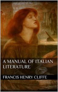 A Manual of Italian Literature  - copertina