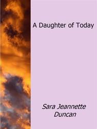 A Daughter of Today - copertina