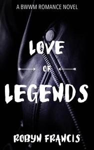 Love Of Legends: A BWWM Romance Novel  - copertina