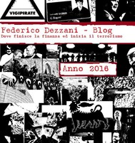 Federico Dezzani - Blog. Anno 2016 - copertina