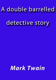 A double barelled detective story - copertina