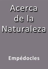 Acerca de la naturaleza - copertina