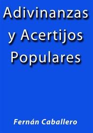 Adivinanzas y acertijos populares - copertina