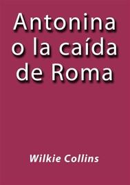 Antonina o la caída de Roma - copertina