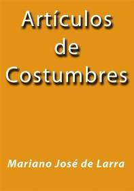 Artículos de costumbres - Librerie.coop