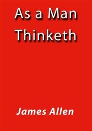 As a man tinketh - copertina