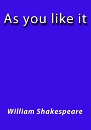 As you like it - copertina