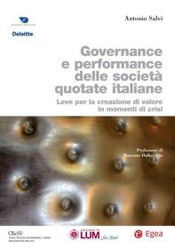 Governance e performance delle società quotate italiane - Librerie.coop