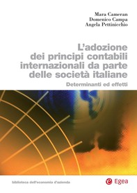 Adozione dei principi contabili internazionali da parte delle società italiane - Librerie.coop