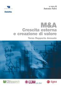 M&A. Crescita esterna e creazione di valore - Librerie.coop