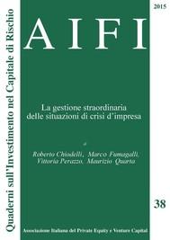 AIFI 38. La gestione straordinaria delle situazioni di crisi d'impresa - copertina