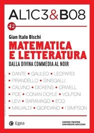 Alice & Bob 42. Matematica e letteratura - copertina