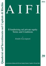 AIFI 39 - Il fund raising nel Private Equity - copertina