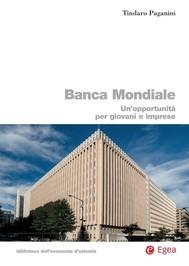 Banca Mondiale - copertina