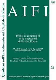 AIFI 21/2009 - Profili di compliance nelle operazioni di Private Equity - copertina