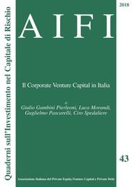 AIFI 43. Il Corporate Venture Capital in Italia - copertina