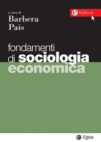 Fondamenti di sociologia economica - Librerie.coop