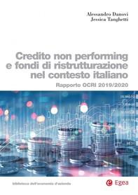 Controllo non performing e fondi di ristrutturazione nel contesto italiano - Librerie.coop
