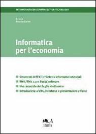 Informatica per l'economia - copertina