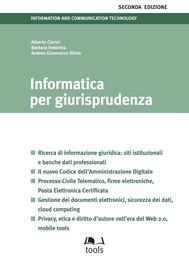 Informatica per giurisprudenza - seconda edizione - copertina