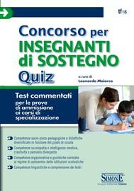 Concorso per Insegnanti di Sostegno - Quiz - copertina