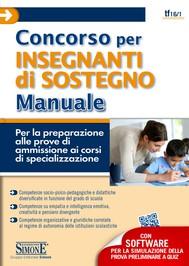 Concorso per Insegnanti di Sostegno - Manuale + Software - copertina