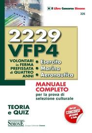 2229 VFP4 - Volontari in ferma prefissata di quattro anni - Esercito - Marina - Aeronautica - copertina