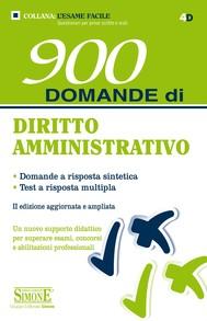 900 Domande di Diritto Amministrativo - copertina