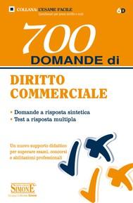 700 domande di Diritto Commerciale - copertina