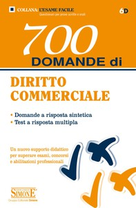 700 domande di Diritto Commerciale - Librerie.coop
