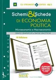 Schemi & Schede di Economia Politica - Librerie.coop