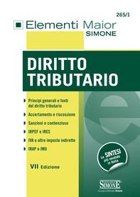 Elementi Maior di Diritto Tributario - Librerie.coop