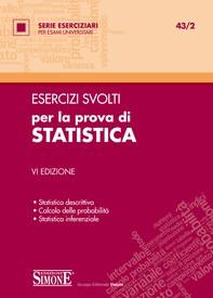 Esercizi svolti per la prova di Statistica - Librerie.coop