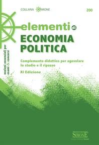 Elementi di Economia Politica - Librerie.coop