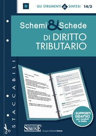 Schemi & Schede di Diritto Tributario - Librerie.coop