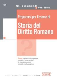 Prepararsi per l'esame di Storia del Diritto Romano - Librerie.coop